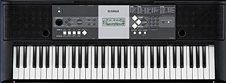 Yamaha YPT-230 - Teclado portátil, color negro