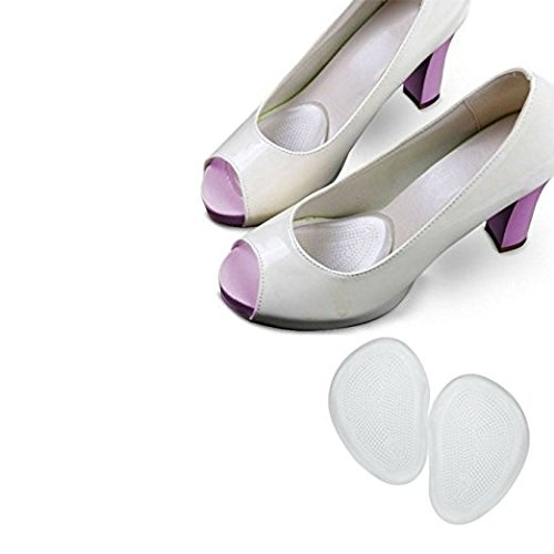 Slim Metatarsal Ball Of Foot Inserts High Heels Feet Reusable Silicone Transparent Gel Insole Cushion Pads Cups Protectors