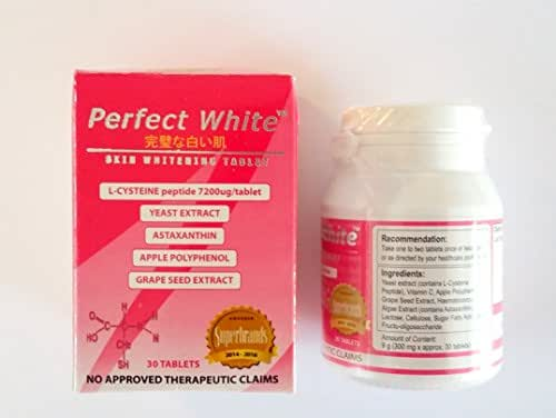 Perfect White Skin Whitening Anti-Aging Tablets
