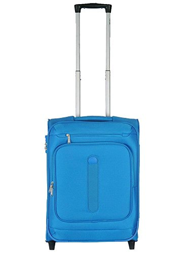 Delsey Manitoba luggage Trolley cabin Slim 2R 55 light blue