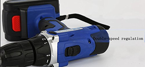 LUBAN 25V Electric Drill Rechargeable Lithium Battery Electric Drill Multi-function Electric Screwdriver Handheld Power Tools by LUBAN (Image #4)