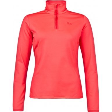 Protest 3610200-221-L-40 Ladies Fabrizoy Pink Cerise Zip Top- Size L (40)