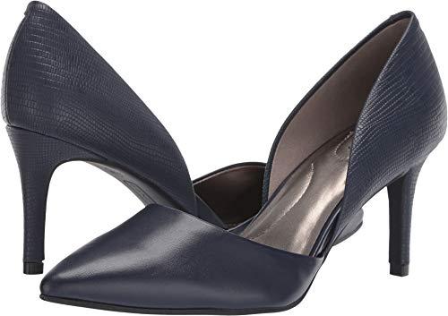 Bandolino Womens Gingere Dark Blue 10 M