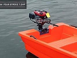 KAHE2016 7HP Motor eléctrico de Barco de Barco de 4 Tiempos ...