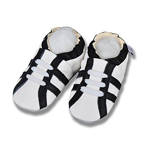 Lappa.de , {Chaussures premiers pas pour bébé (garçon) Multicolore Multicolore