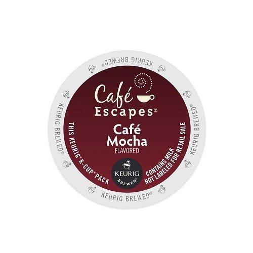 Café Escapes Café Mocha, K-Cup Portion Pack for Keurig Brewers, 24-Count (Keurig Mocha K Cups compare prices)