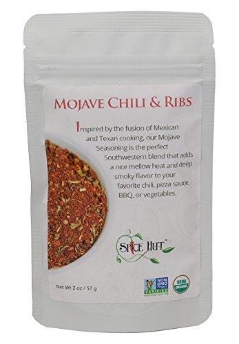 - The Spice Hut Organic Mojave Chili & Ribs, Exotic Meat BBQ Rub, USDA Certified Organic, 2 Ounce