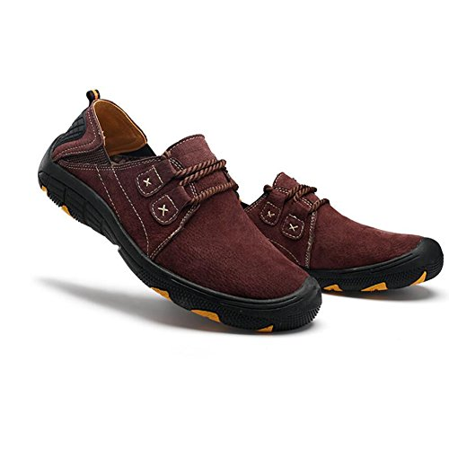 Shoes Shoes F Hiking Slip Slip Non amp; 2018 New Leather Men's Large Size Loafers Casual Sneakers Outdoor ONS ETwHx04q