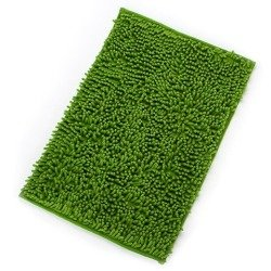 New Decor 40x60 Chenille Rug Shaggy Mat Room Floor Carpet Dust Bedroom Bathroom  Rug Grass Green
