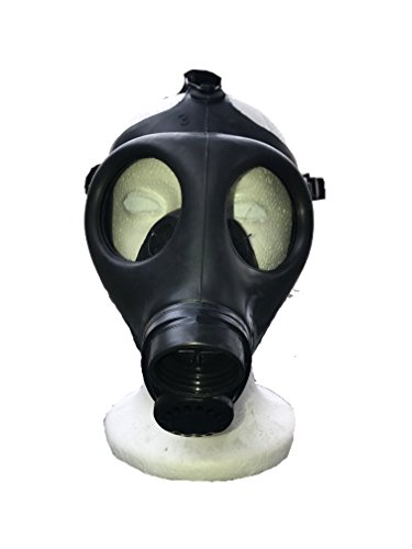 Scary Gas Mask Halloween Costume (Gas mask (small size) with filter)