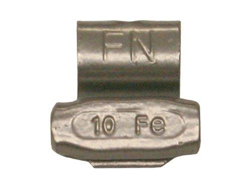 Box of 25 Coated FN Wheel Weights 10 gram