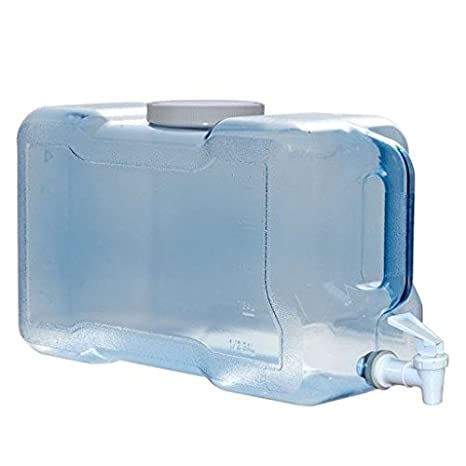 9d8f6ebb92 Amazon.com: 3 Gallon Plastic Water Bottle: Kitchen & Dining