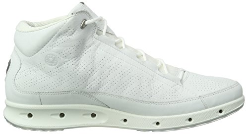 ECCO Men's Cool Multisport Outdoor Shoes, Green White (White01007)