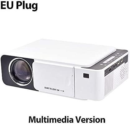 T5 2600 Lumen 4K 3D Mini Proyector de Video LCD portátil ...