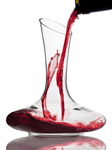 Wine-Reveller-Hand-Blown-100-Lead-Free-Crystal-Decanter-Red-Wine-Carafe-with-Easy-Pour-Spout-Great-Wine-Gift