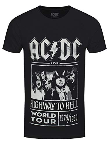 54b490196 AC DC  Highway to Hell World Tour 1979 1980  T-Shirt
