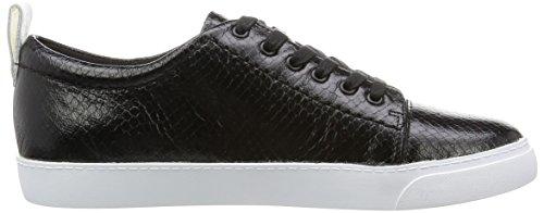 Noir black Snake Echo Glove Sneakers Basses Clarks Femme xCXnaOpwYq