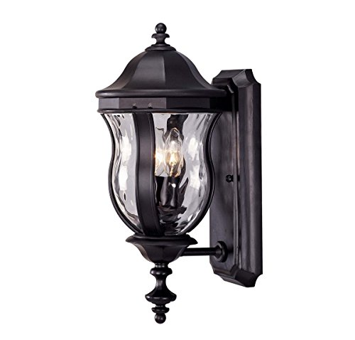 Savoy House KP-5-304-BK Two Light Wall Mount Lantern