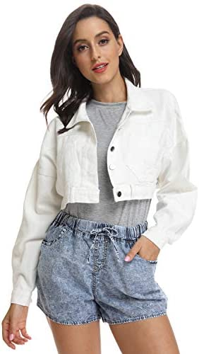 Details about Womens clothing Plus Size Denim Vest Wash out Button down Frayed Cropped