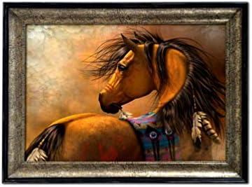 Montana West Horse Art Painting