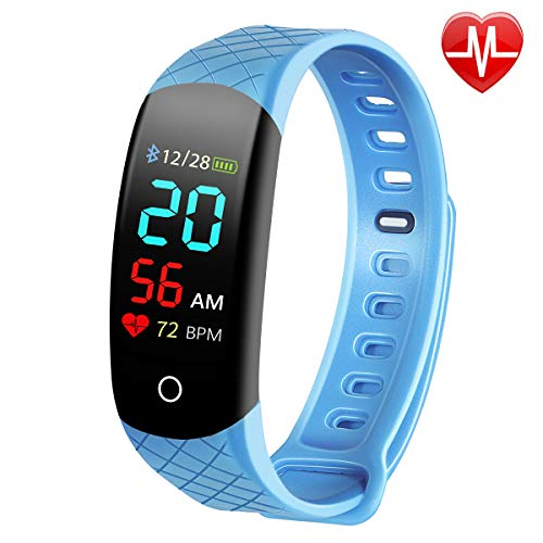 Busezy Fitness Tracker with Sleep Monitor, Heart Rate Monitor, Step Counter, Calorie Counter,...