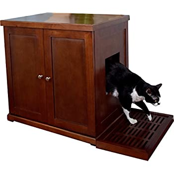 The Refined Feline RLB MA Wood Cat Litter Box