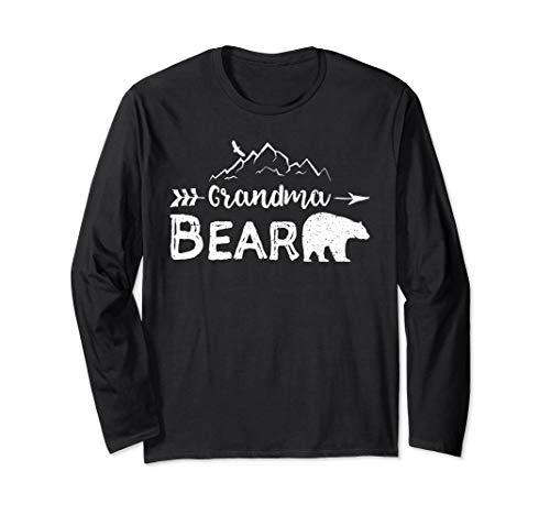 Grandma Bear Long Sleeve T-Shirt Matching Family