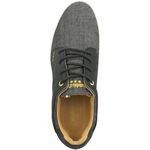 Uomo Herren d'Oro Schwarz Comacchio Sneaker Pantofola Black Low Canvas nHq5RRI