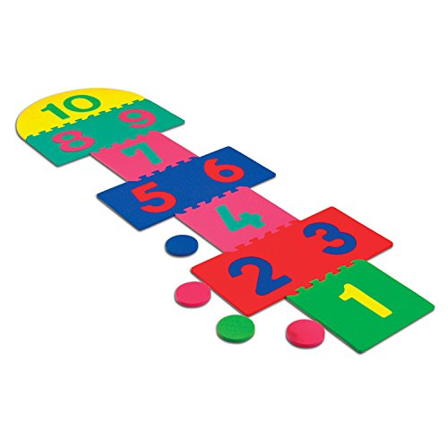 Hopscotch Game Rug (Chenille Kraft Creativity Street WonderFoam Hop Scotch Mat (4384))