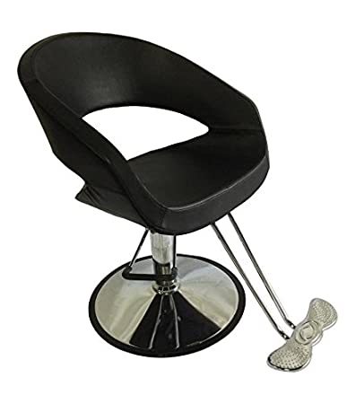 amazon com oval barber chair comfort styling salon beauty equipment