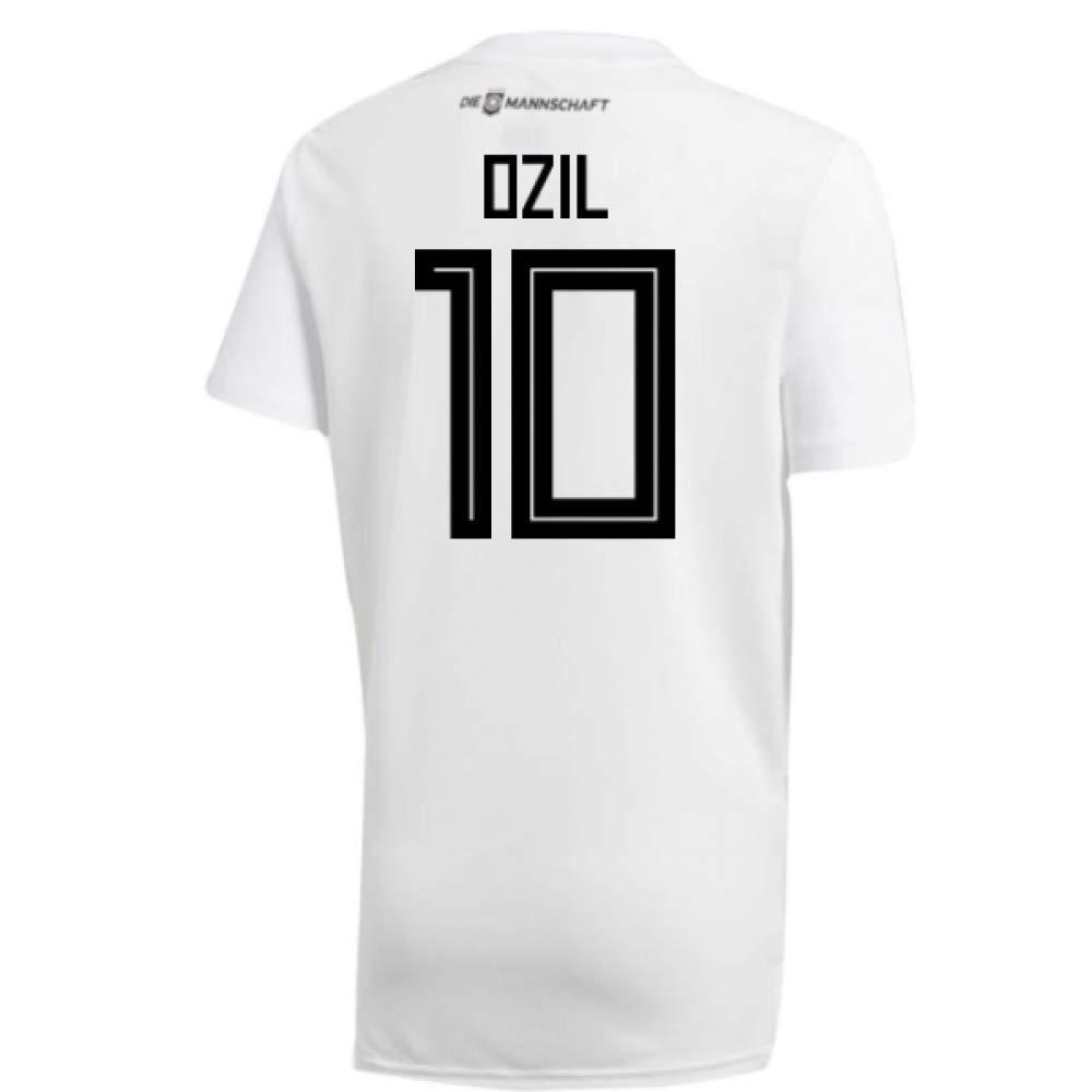 2018-19 Germany Home Training Football Soccer T-Shirt Trikot (Mesut Ozil 10)
