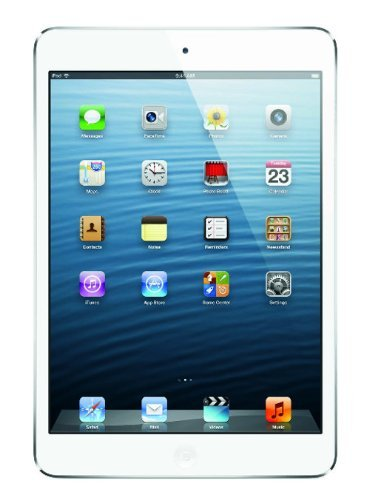 Apple iPad mini FD531LL/A 16GB, Wi-Fi, (White/Silver) (Renewed)]()