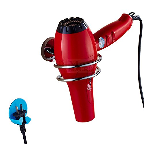 Stainless Steel Hair Dryer Holder, Wall Mount Hair Blower...
