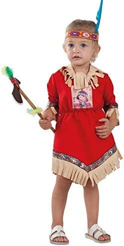 DISBACANAL Disfraz India Nube Roja para bebé - -, 36 Meses: Amazon ...