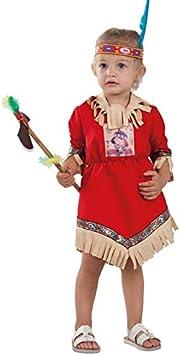 DISBACANAL Disfraz India Nube Roja para bebé - -, 36 Meses ...