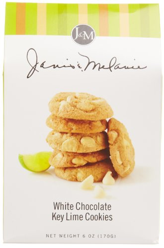 J&M Foods White Chocolate Key Lime Cookies, 6 - Chocolate Key Lime Cookies White