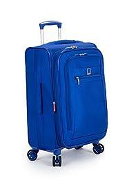 """Delsey Hyper Lite Spinner Luggage Blue 18"""" Spinner"""