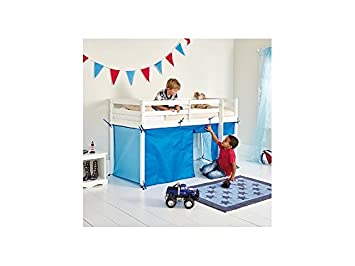 Chad Valley Tent Shorty Midsleeper Bed Frame Blue Amazon Co Uk