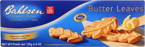 Bahlsen Cookies Butter Leave 4.4 OZ (Pack of 4)