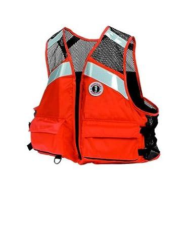 Mustang Survival Industrial PFD Mesh Vest (4/5XLarge) (Life Vests 5x)