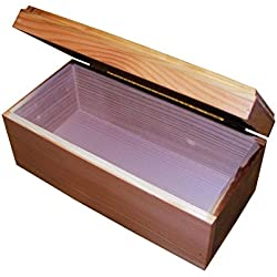 Pet Coffin Casket for Cats or Small Dogs 12 x 18 x 7.5 Inches