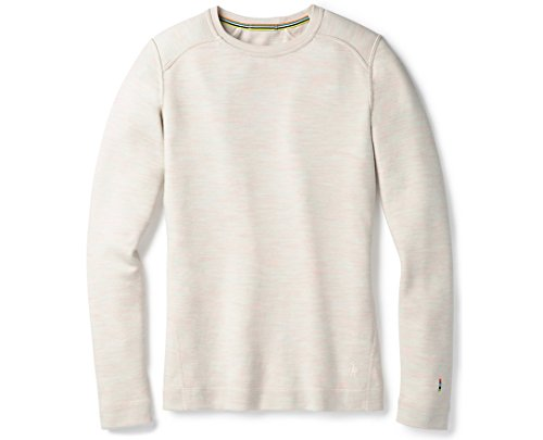 SmartWool Women's Merino 250 Baselayer Crew Moonbeam Heather S by SmartWool