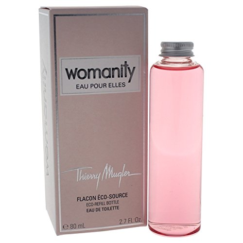 thierry mugler womanity eau de parfum eco refill bottle for women 2 7 ounce. Black Bedroom Furniture Sets. Home Design Ideas