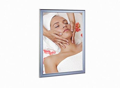 Backlit Ultra Slim LED Light Box (Silver) Graphic Sign Display 24