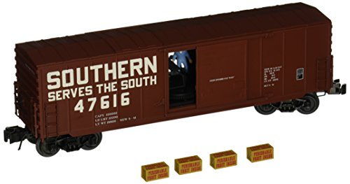 Williams By Bachmann Southern O Scale Operating Box Car - Operating Uncoupling Track