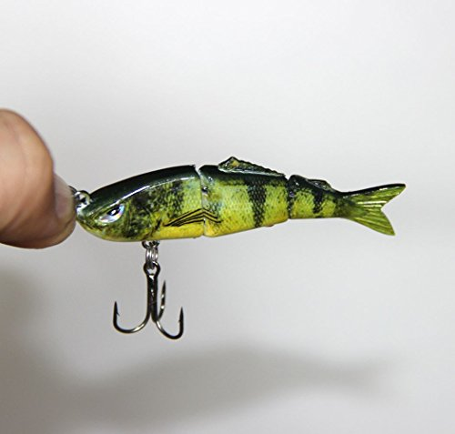 discover fish u00ae 2 5 inch micro small multi jointed fishing life