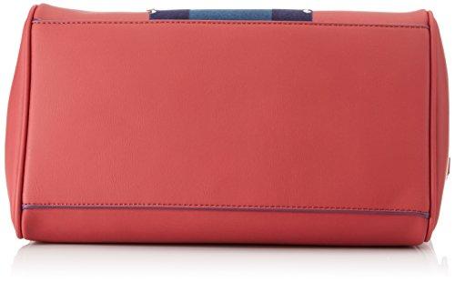 Trussardi Jeans 75b00174-1y000039, Borsa Tote Donna, Rosso, 35 x 30 x 17 cm (W x H x L)