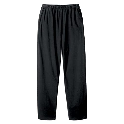 Hot Essential Knit Pant, Color Black, Size Large, Black, Size Large for sale