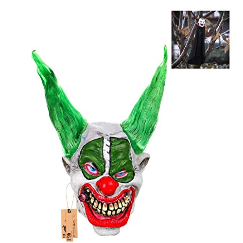 Hyaline&Dora Evil Scary Demented Psycho Clown Latex Mask