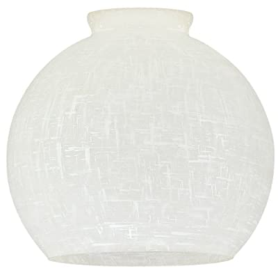 "Westinghouse 8141400 2-1/4"" Linen Globe Lamp Shade"